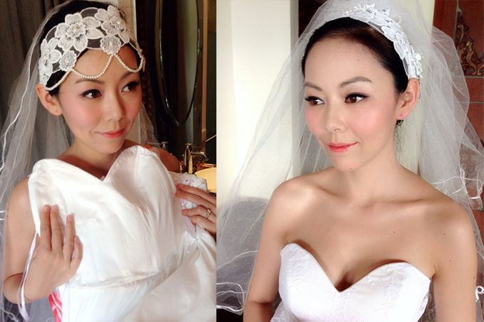 New Client this month by Cindy Lin Make Up Artist - 009