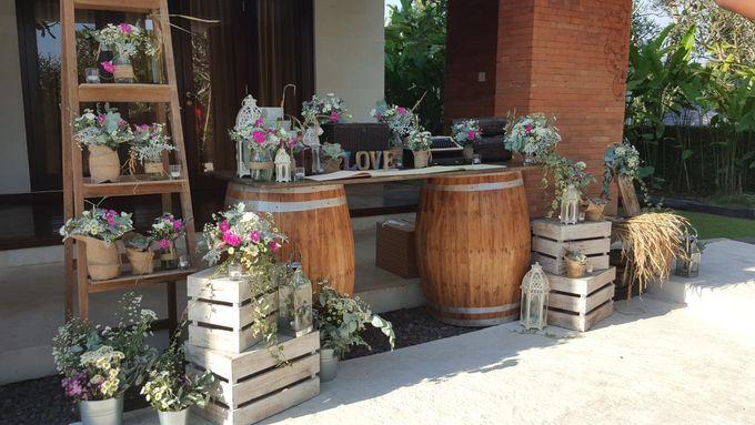 Sunset Garden Party by d'Oasis Florist & Decoration - 005