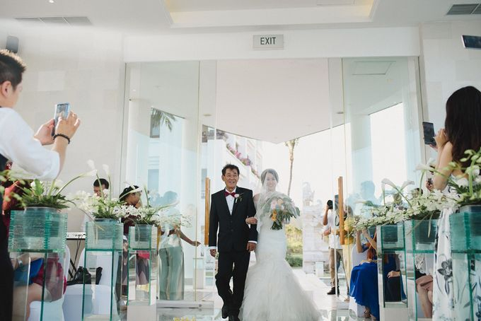 Wedding of Vina & Simon by Hilton Bali Resort - 021