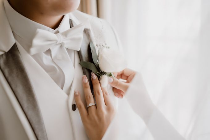 The Wedding of Bella & Ryan by Benoite Florist - 006