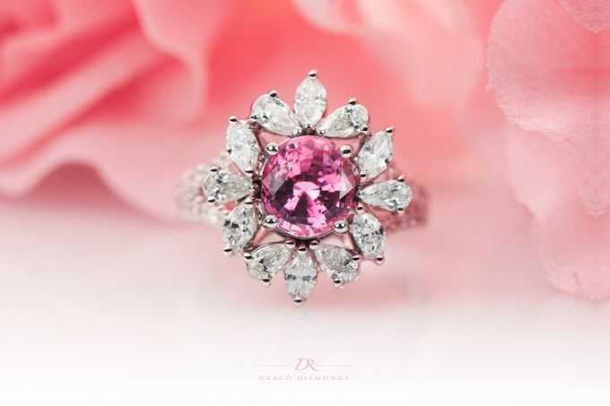 Fancy Pink Ring by Draco Diamonds - 001