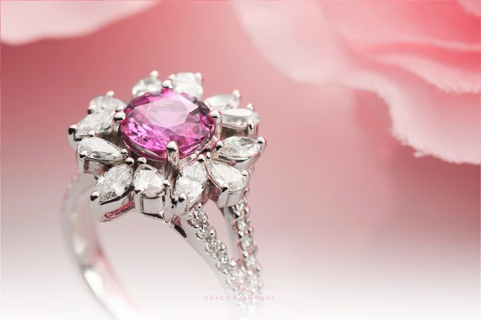 Fancy Pink Ring by Draco Diamonds - 003