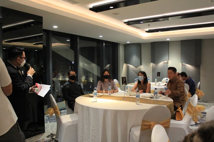 MC Wedding Double V Entertainment at JHL Solitaire Serpong by Double V Entertainment - 023