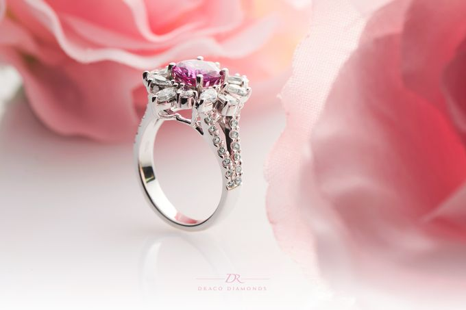 Fancy Pink Ring by Draco Diamonds - 004