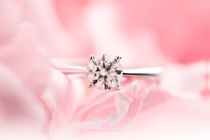 Four-Prong Tapered Solitaire Engagement Ring by Draco Diamonds - 004
