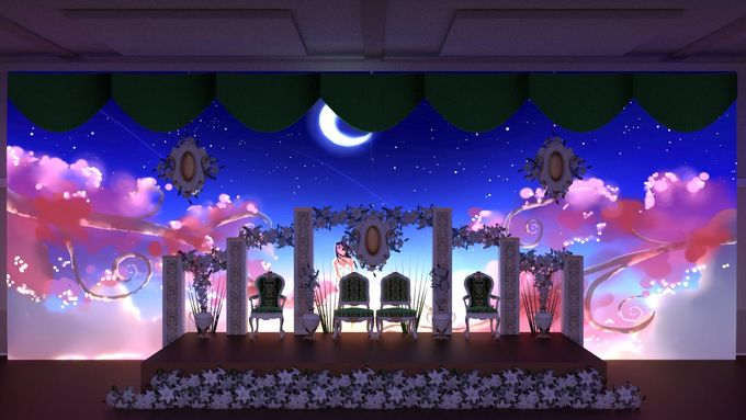 minimalis Weddingvideo Mapping Medium Package by D n A Decoration - 002