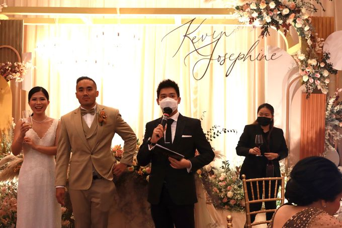 MC Wedding Intimate at Jade Room Fairmont Hotel Jakarta by Anthony Stevven by Anthony Stevven - 017