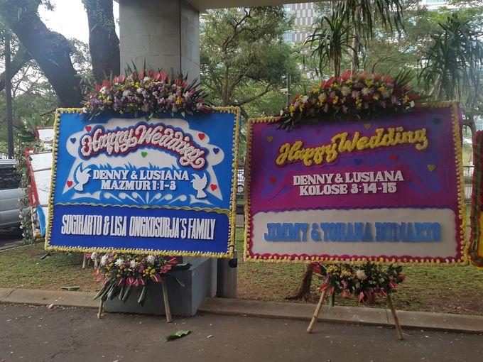 The Wedding Denny Oswaldo & Lusiana Tanudjaja by Red Hat Organizer - 012