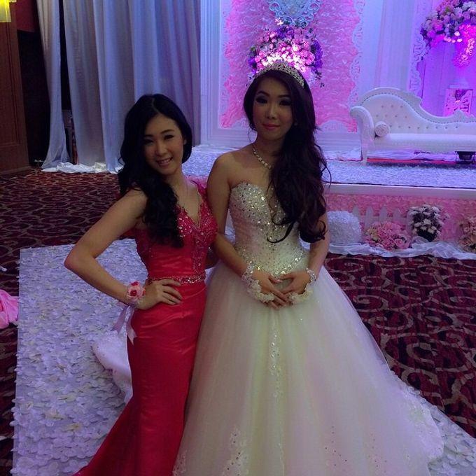 THE WEDDING OF EDISON & SONIA / 26.10.14 / SEASONS CITY BALLROOM, JAKARTA by AS2 Wedding Organizer - 003