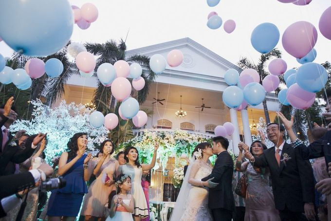 Garden Wedding of Ricky & Inggrid by All Occasions Wedding Planner - 013