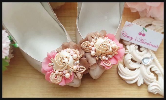 Flowery Shoeclips by Cherry's  Handmade - 002