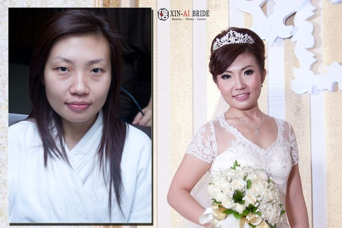 before & after by Xin-Ai Bride - 029