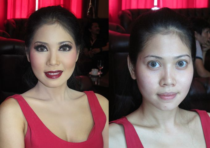 Before - After MakeUp & Hair Do by Andiyanto Salon - 003