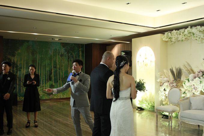 MC Wedding Intimate OnFive Grand Hyatt Jakarta - Anthony Stevven by Anthony Stevven - 014