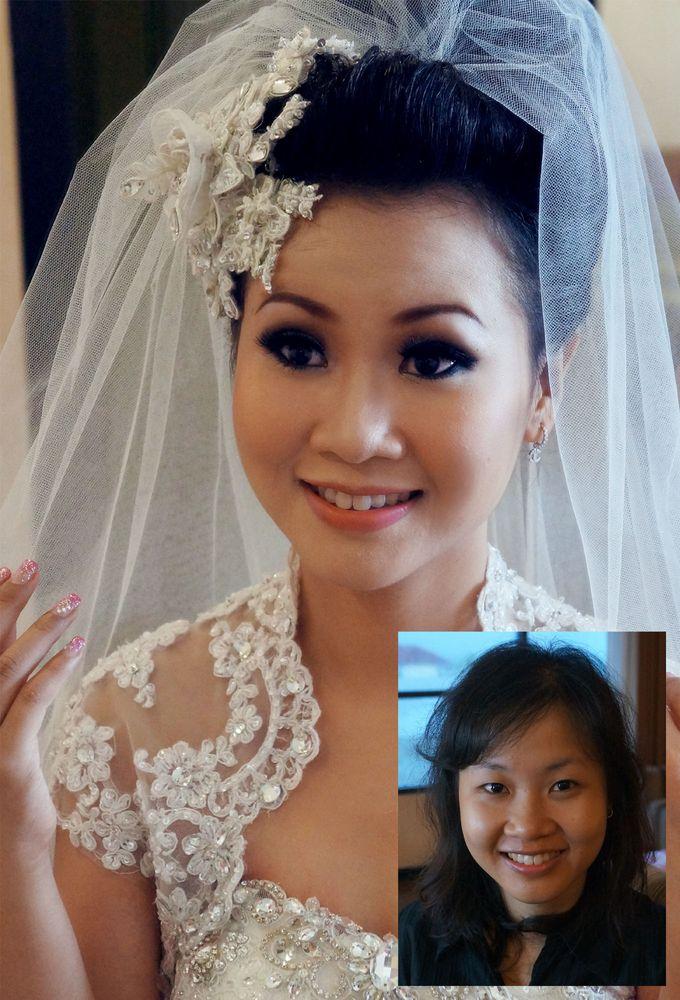 Dicky & Ivana Wedding by Marcelline Vony MUA - 003