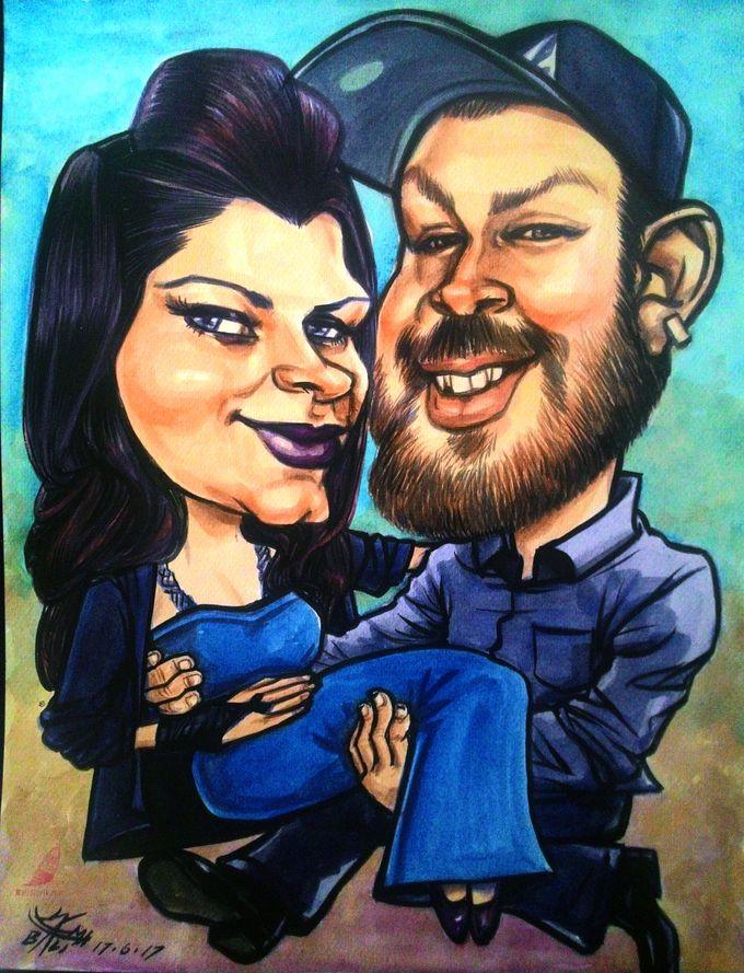 Wedding Souvenir by Bali Karikatur - 016