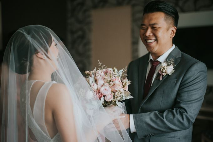 Steven & Catherin Wedding at Aston Cirebon by PRIDE Organizer - 022