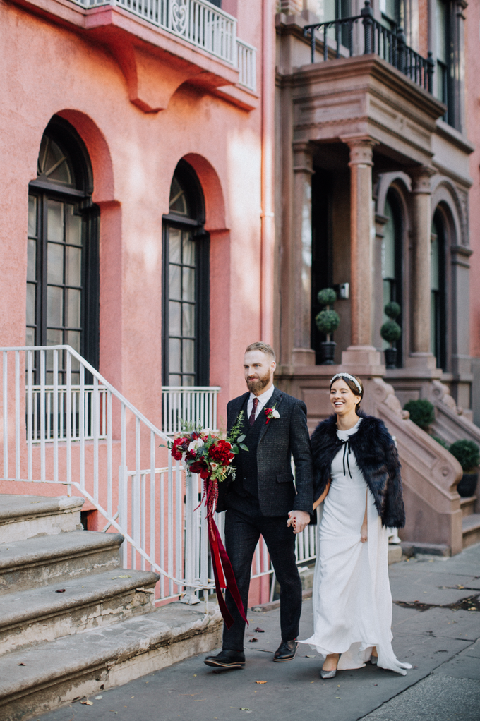 West Village NYC Elopement  by Eager Hearts Photography Co. - 003