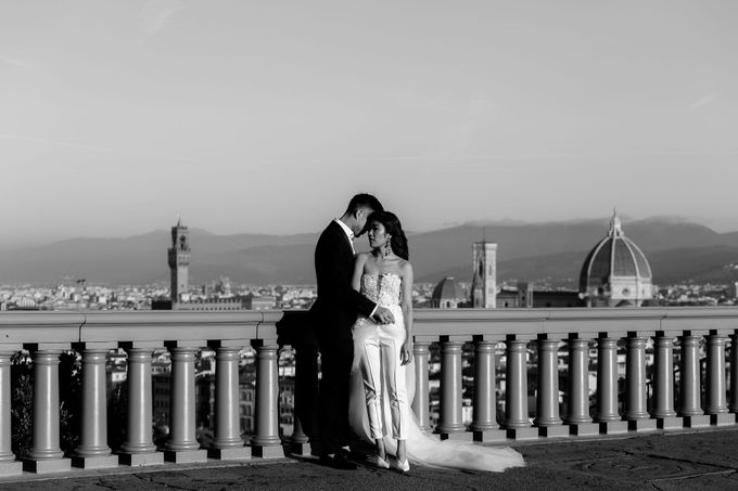 Post-Wedding Shoot in Florence and Tuscan Hills by Fotomagoria - 029
