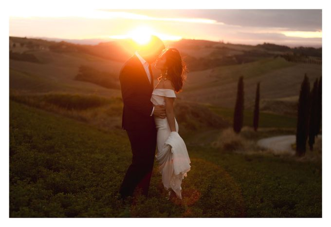 Post-Wedding Shoot in Florence and Tuscan Hills by Fotomagoria - 033