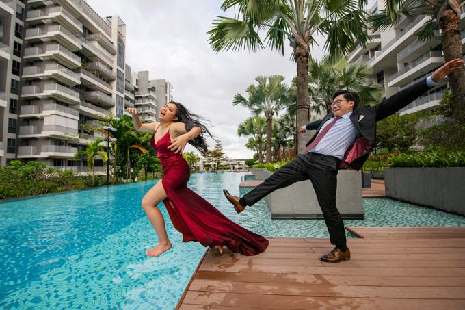 Leo & Evelyn [Crazy Wedding Shoot] by GrizzyPix Photography - 001