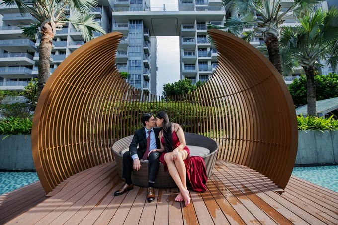 Leo & Evelyn [Crazy Wedding Shoot] by GrizzyPix Photography - 016