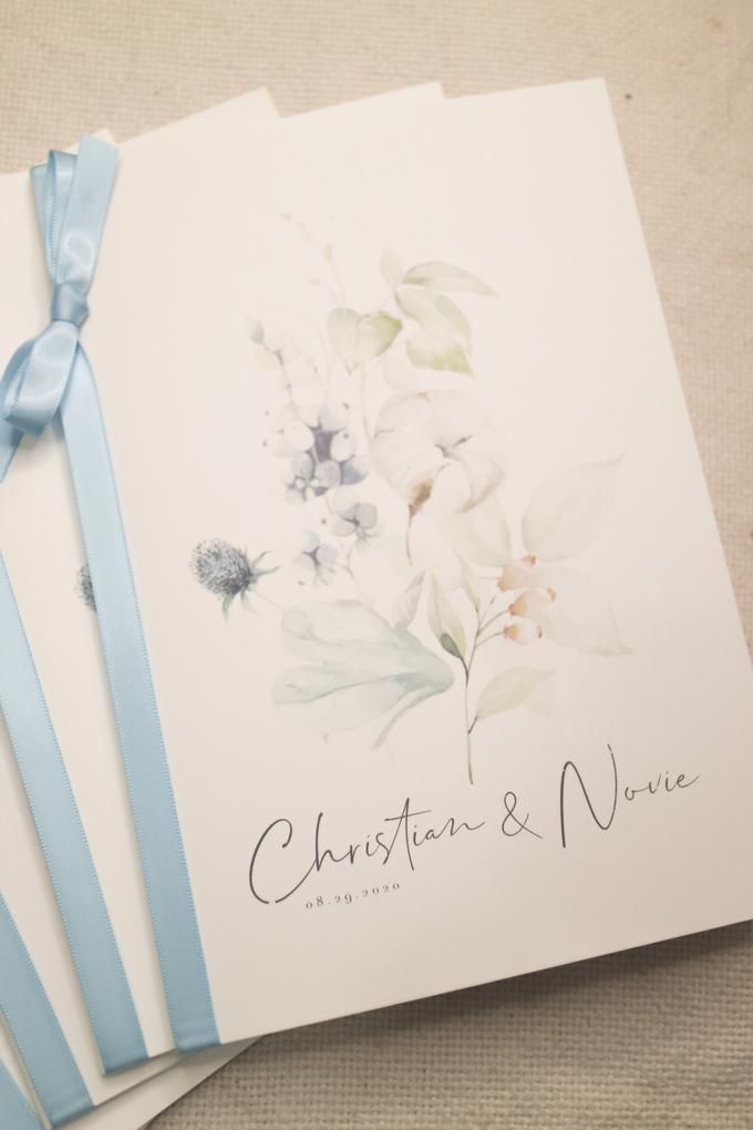 Wedding Stationeries for Christian & Novie by earlgreymeg - 001