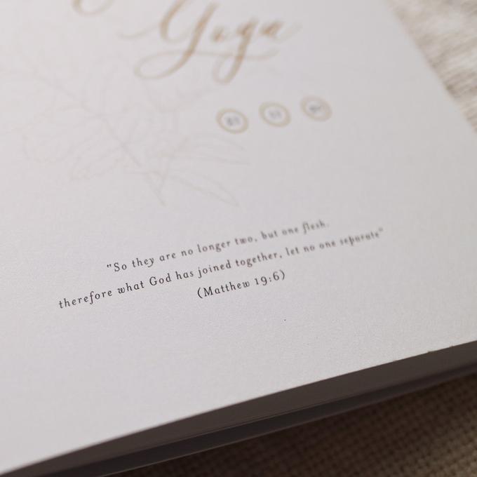 Holy Matrimony Book for Anggrit & Yoga by earlgreymeg - 004