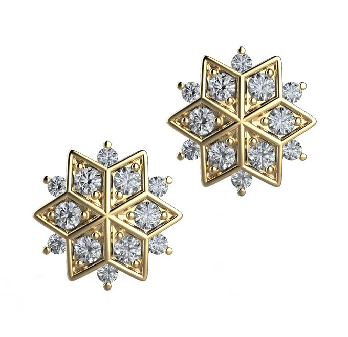 Snowflakes Collection by Mirage Jeweler - 005