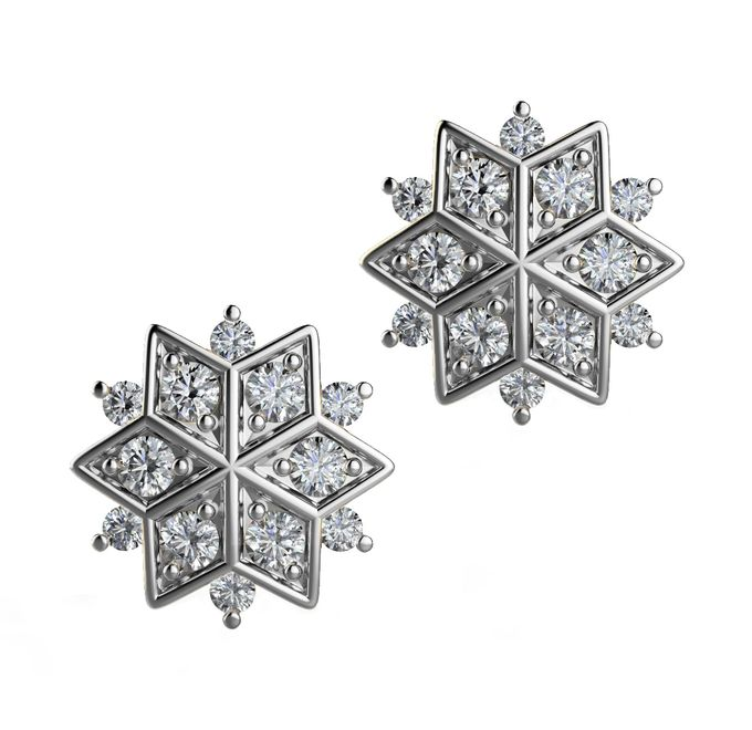 Snowflakes Collection by Mirage Jeweler - 004
