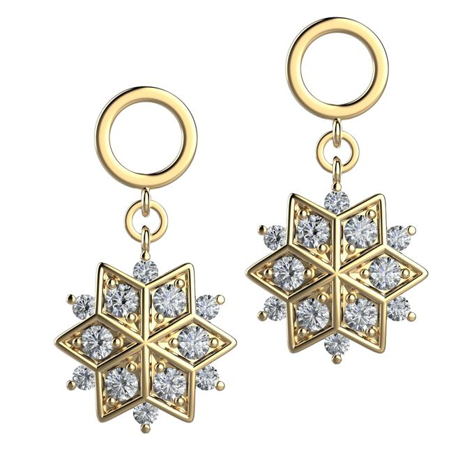 Snowflakes Collection by Mirage Jeweler - 006