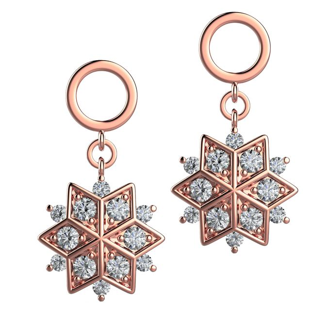 Snowflakes Collection by Mirage Jeweler - 007