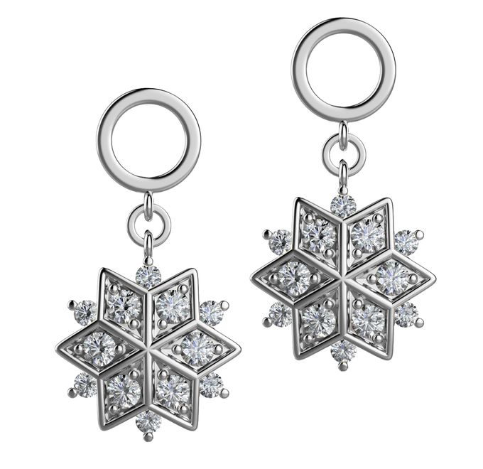 Snowflakes Collection by Mirage Jeweler - 008