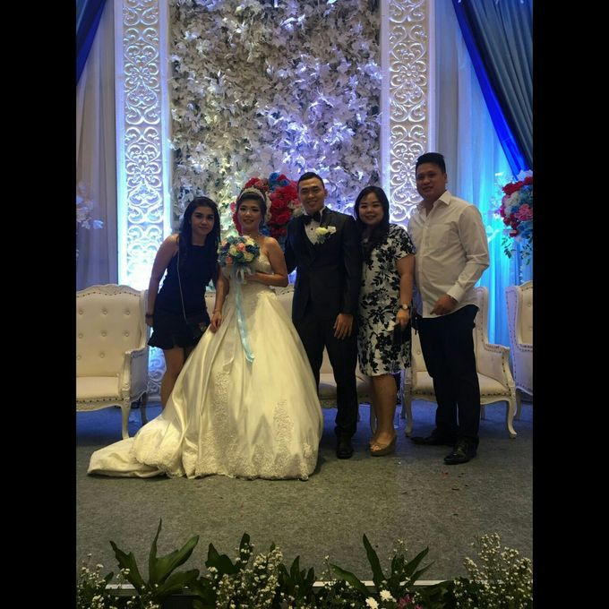 Peter and Widia Wedding by Adel's House of card - 007