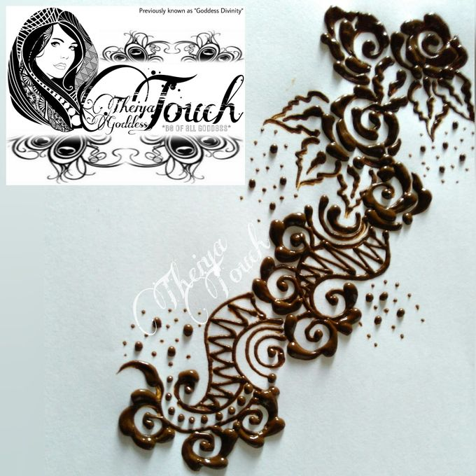 Henna Artwork Designing by Theiya Goddess Touch - 016
