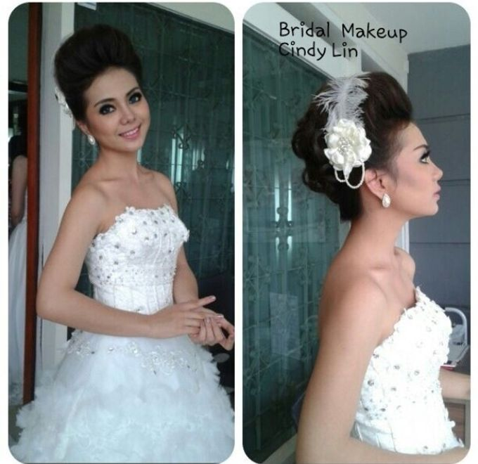 Wedding and party by Cindy Lin makeup and airbrush makeup artist - 002
