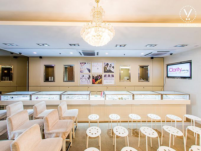 Event Space with Diamonds by eClarity Diamonds - 003