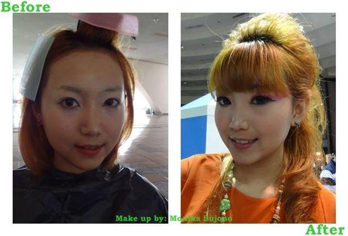 Before After Make up by Monika Sujono Make Up Artist - 001