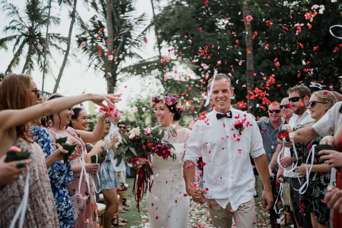 Wedding of Talia & Ben by Lily Wedding Services - 008