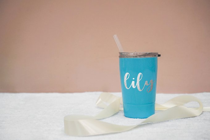 Personalized and Customized 350ml Tumbler Gifts by Kelsye Studio - 002
