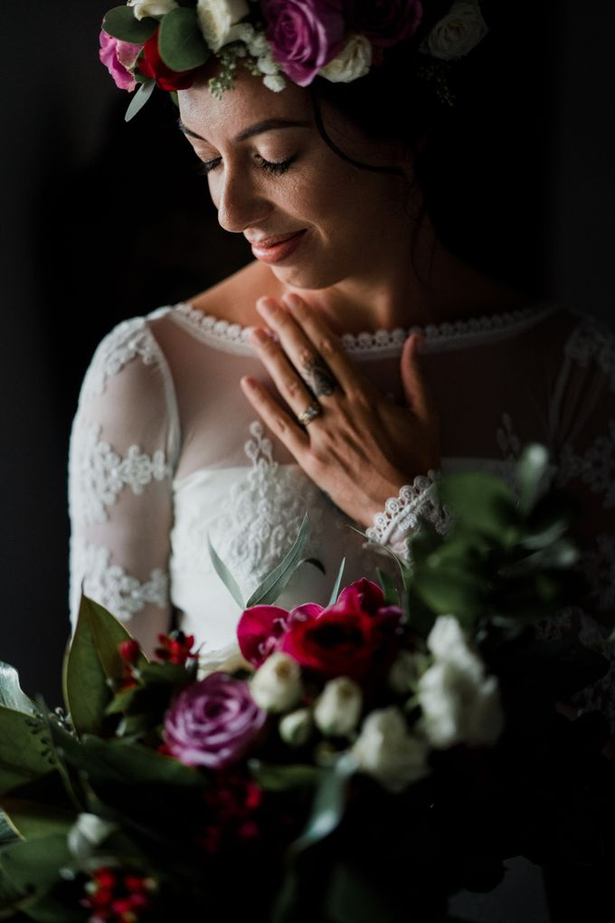 Wedding of Talia & Ben by Lily Wedding Services - 002