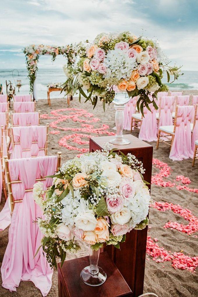 Ametis Villa Wedding by Jc Florist Bali - 002