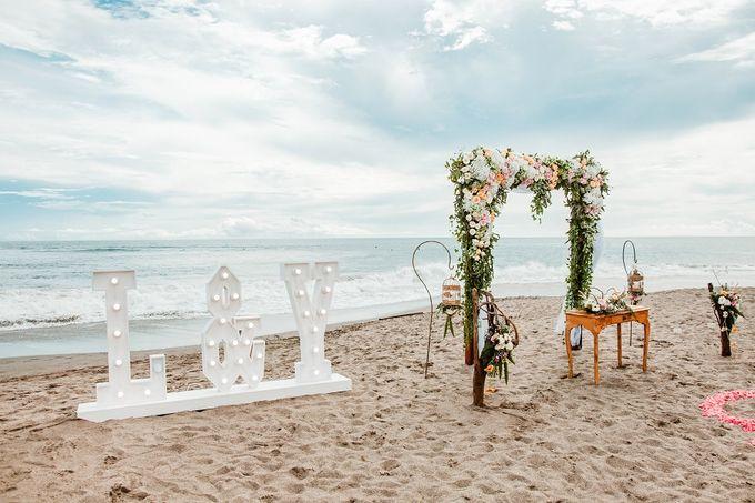 Ametis Villa Wedding by Jc Florist Bali - 003