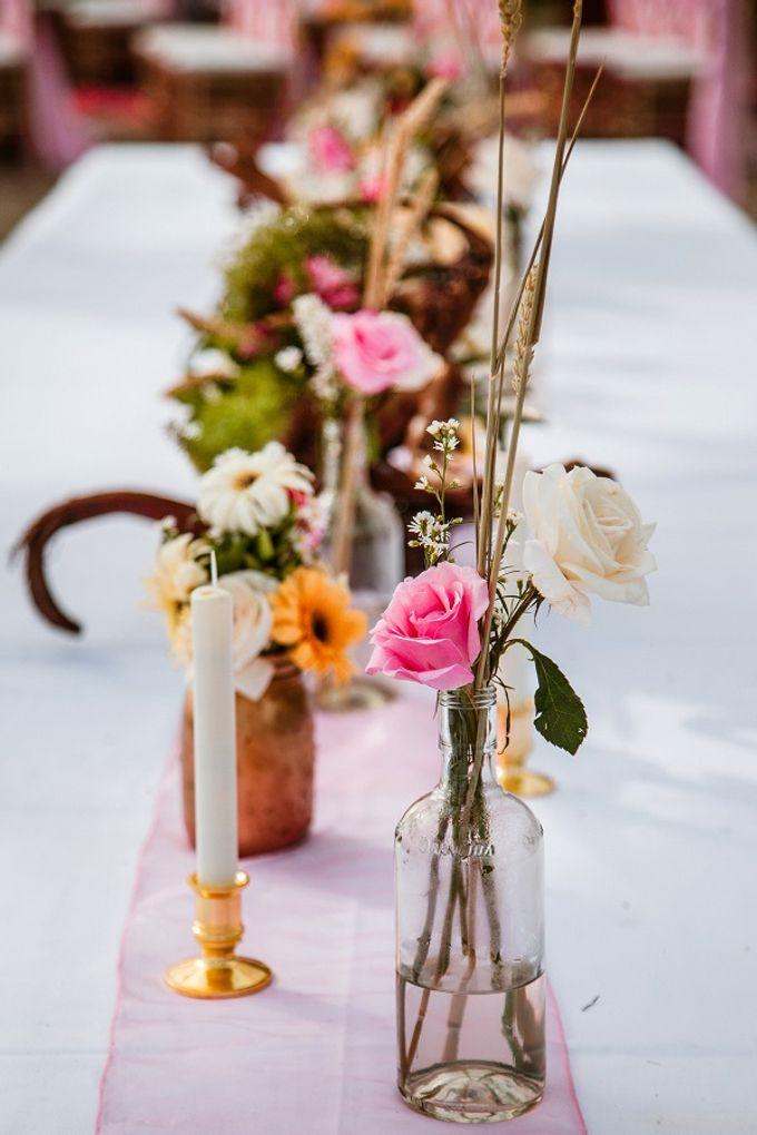 Ametis Villa Wedding by Jc Florist Bali - 006