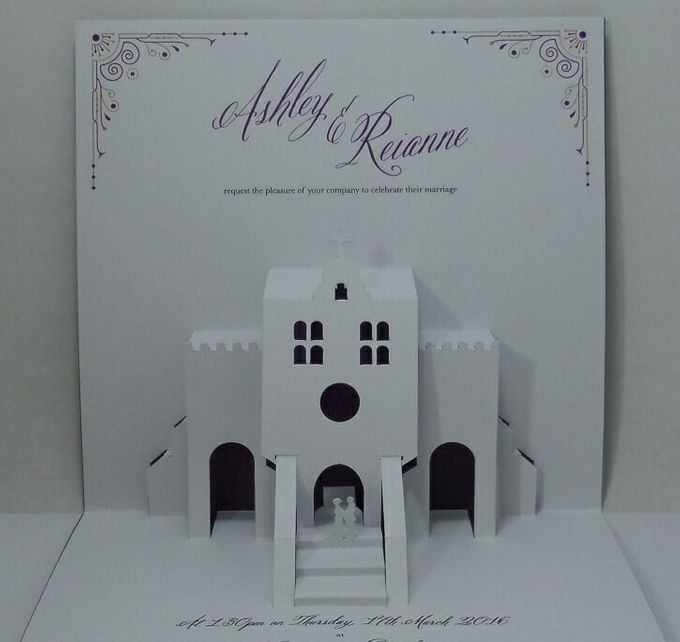 Pop Up Church Invitation by Pop Up Occasions - 004