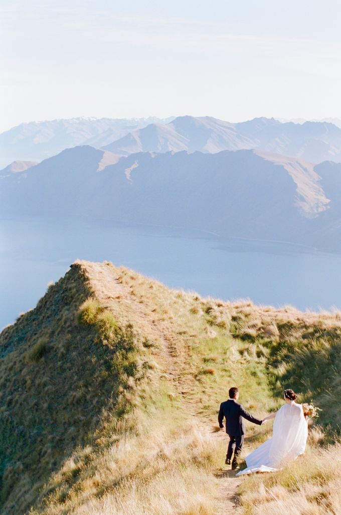 Three day Pre-Wedding shoot in New Zealand by Feather and Stone Photography - 021