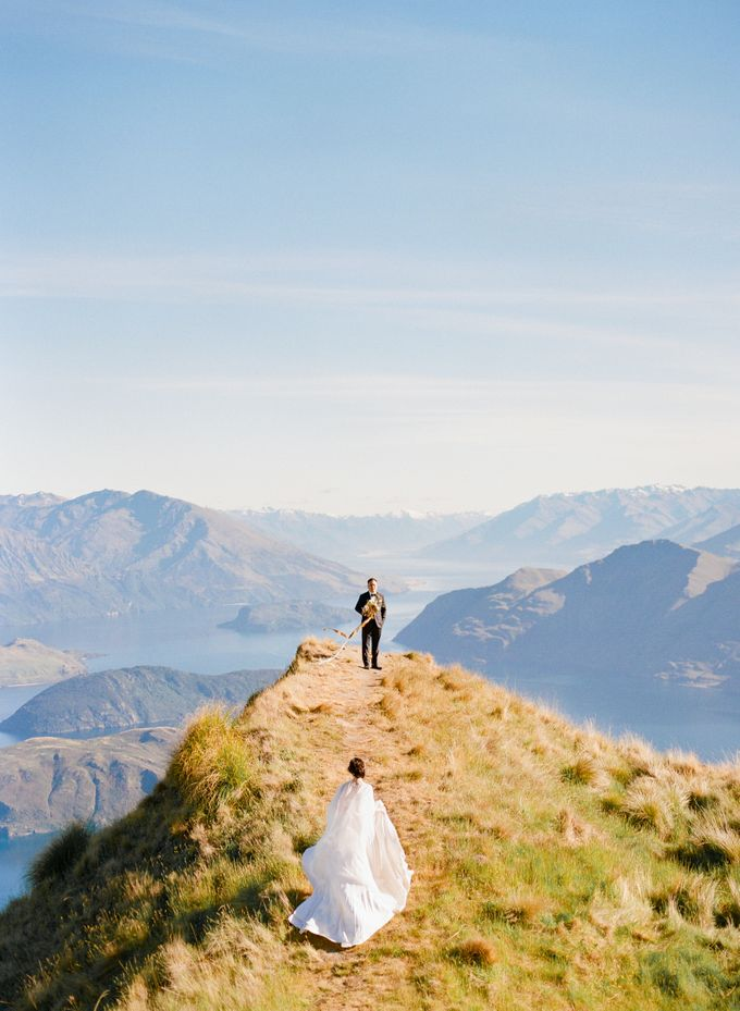 Three day Pre-Wedding shoot in New Zealand by Feather and Stone Photography - 025
