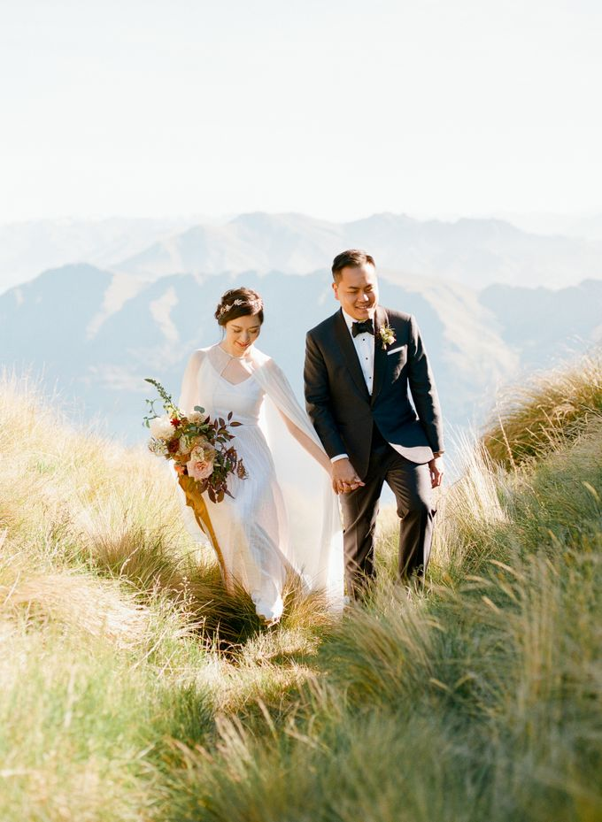 Three day Pre-Wedding shoot in New Zealand by Feather and Stone Photography - 026
