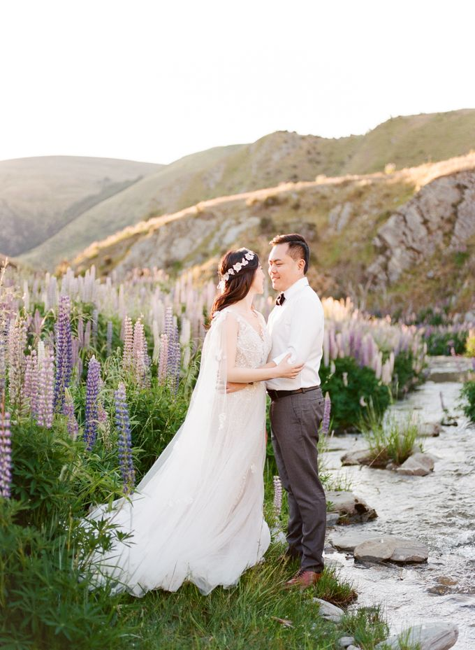 Three day Pre-Wedding shoot in New Zealand by Feather and Stone Photography - 031
