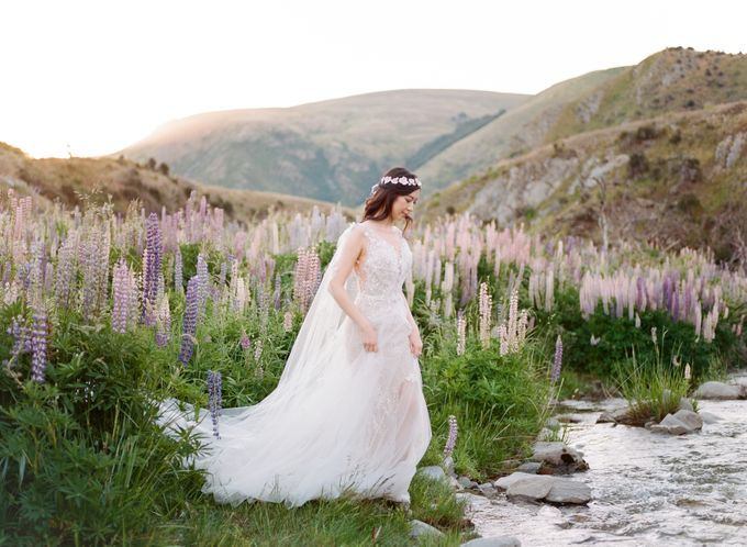Three day Pre-Wedding shoot in New Zealand by Feather and Stone Photography - 033